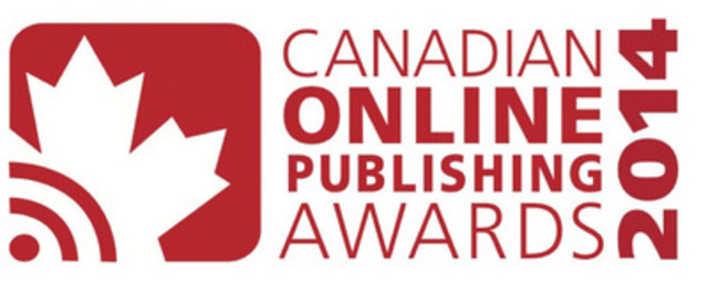 Canadian Online Publishing Awards (CNW Group/Canadian Online Publishing Awards (COPA))