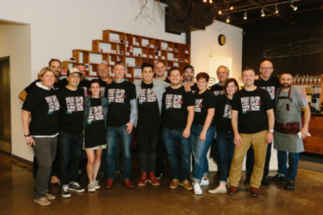 Restaurants for Change ambassadors from Vancouver to St. John's came together in Toronto in support of ...