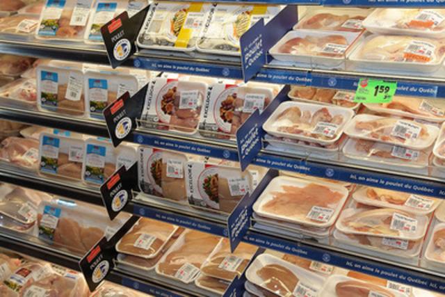 METRO SOULIGNE LE PREMIER ANNIVERSAIRE DE SA POLITIQUE D'ACHAT LOCAL : Les produits de poulet Irresistibles de Metro seront 100 % québécois (Groupe CNW/METRO INC.)