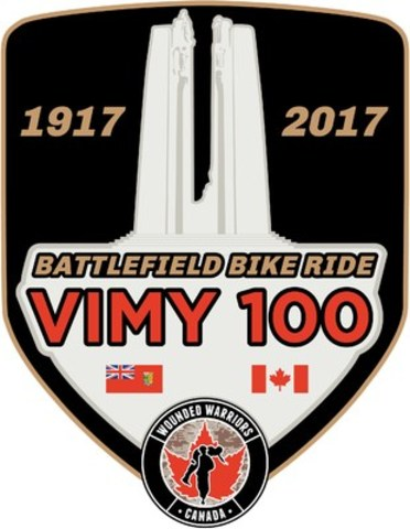 2017 Wounded Warriors Canada Battlefield Bike Ride (CNW Group/Wounded Warriors Canada)