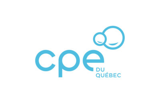 Logo : CPE du Québec (Groupe CNW/Conseil québécois des services de garde éducatifs à l'enfance (CQSGEE))