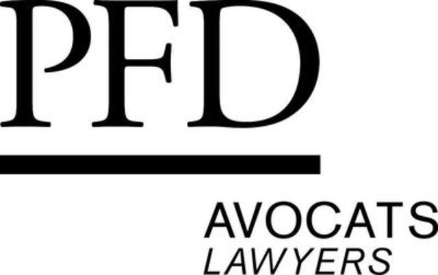 Logo: PFD Avocats (Groupe CNW/PFD avocats)