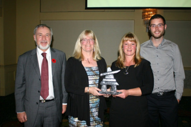 CIM Newfoundland Branch - 2013 Explorer of the Year Award received by Marathon Gold Corporation during the ...