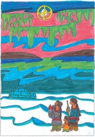 Giorgio, 10 ans, Ontario, gagnant du concours (Groupe CNW/UNICEF Canada)