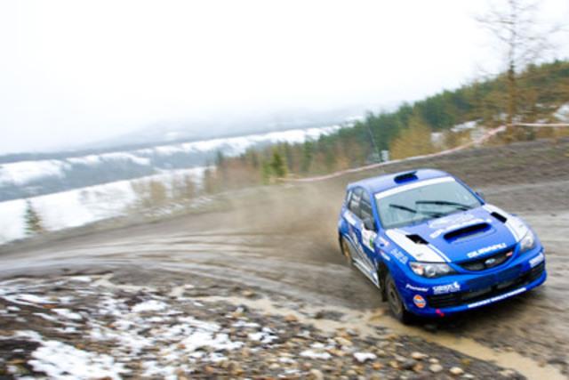 2011 Rocky Mountain Rally (CNW Group/Subaru Canada Inc.)