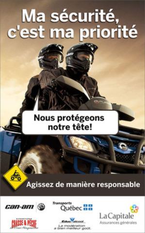 Affiche VTT (Groupe CNW/LA CAPITALE ASSURANCES GENERALES INC.)