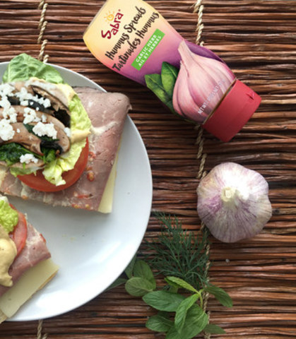 Sabra Canada Inc. has launched new Sabra Hummus Spreads just in time for National Sandwich Day on November 3, 2016. Fuelled by the goodness of chickpeas, the line of fresh, wholesome, refrigerated sandwich spreads will elevate your lunchtime staple from good to great. (CNW Group/Sabra Canada Inc.)