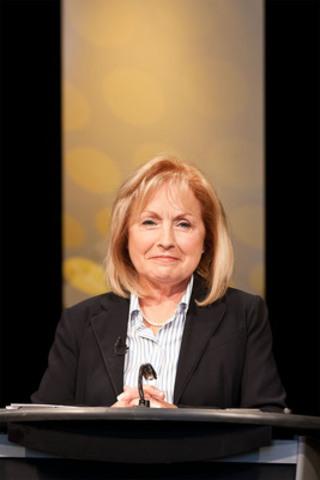 Madeleine Meilleur, parti libéral. (Groupe CNW/Office des télécommunications éducatives de langue française de l'Ontario (OTÉLFO))