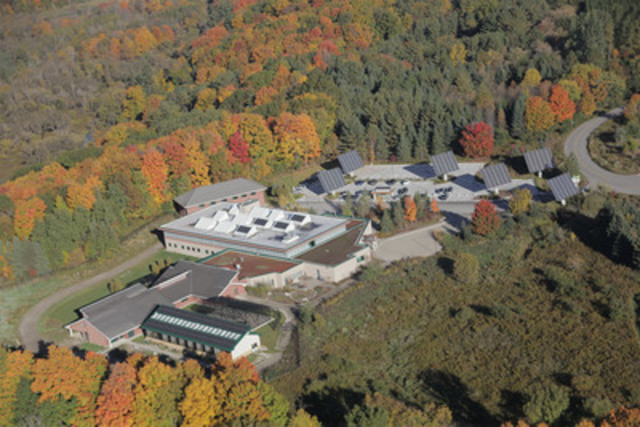Aerial view of The Earth Rangers Centre (CNW Group/Earth Rangers)