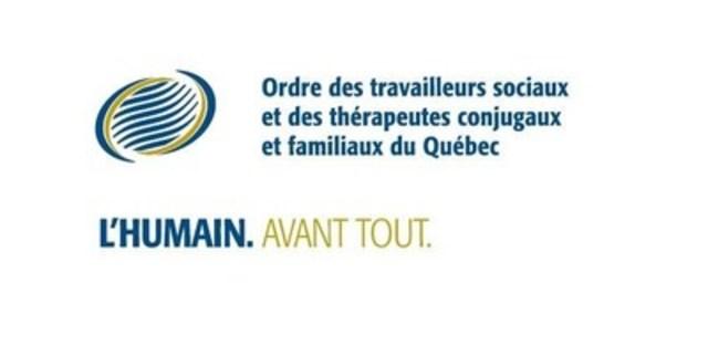 Logo : Ordre des travailleurs sociaux et des thérapeutes conjugaux et familiaux du Québec (Groupe CNW/ORDRE DES TRAVAILLEURS SOCIAUX ET DES THERAPEUTES CONJUGAUX ET FAMILIAUX DU QUEBEC)