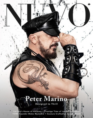 """Peter Marino, the self-proclaimed """"black sheep"""" of the architecture world, has designed many of the world's most forward-thinking retail temples. Of his larger-than-life persona, Marino asserts: """"I don't have the inhibition thing."""" www.nuvomagazine.com (CNW Group/NUVO Magazine Ltd.)"""