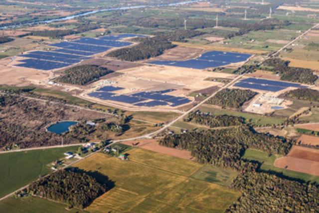 Un avenir plus vert pour la bande Six Nations of the Grand River avec de participation dans plusieurs projets d'énergie renouvelable en Ontario. (Groupe CNW/RBC Banque Royale)