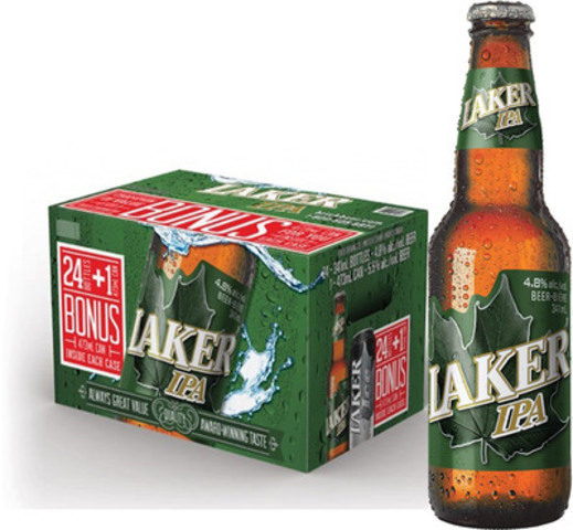 Laker IPA (CNW Group/Brick Brewing Co. Limited)