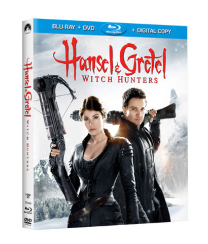 Jeremy Renner & Gemma Arterton Star In The Legendary Tale Of HANSEL & GRETEL: WITCH HUNTERS A Rollicking - And Unrated - Action Spectacle Flying Onto Blu-ray™, Blu-ray 3D™ and DVD June 11th and Early On Digital Download May 21st (CNW Group/Paramount Home Media Distribution)
