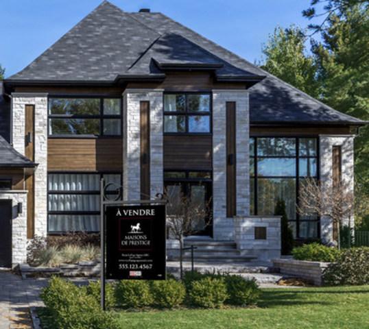 Rapport Maisons de prestige sur les propriétés luxueuses de Royal LePage (Groupe CNW/Services immobiliers Royal LePage)