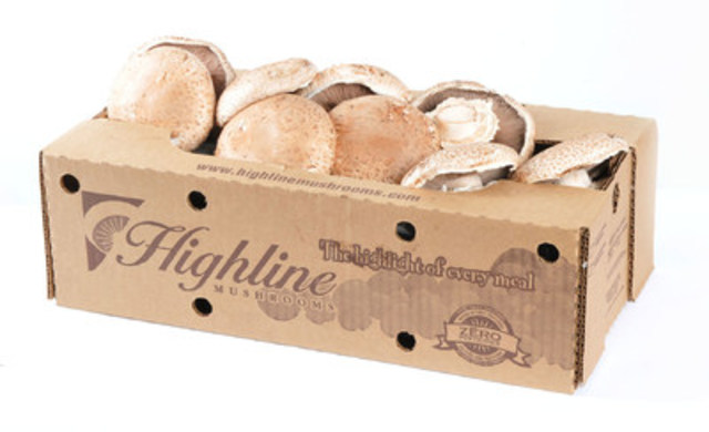 Highline Mushrooms was founded in 1961 from humble beginnings and has grown to become the largest mushroom grower in Canada and the world's largest grower of organic mushrooms. (CNW Group/Highline Mushrooms)