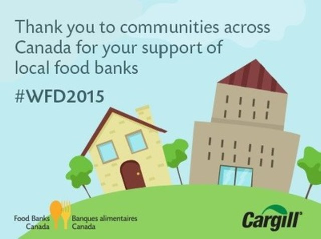 World Food Day, October 16, 2015 (CNW Group/Food Banks Canada)