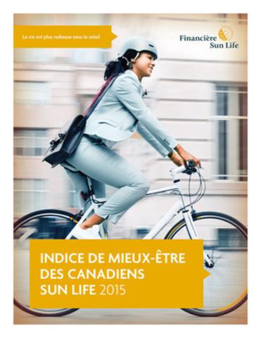 L'indice de mieux-être des Canadiens Sun Life vise à mesurer l'attitude des Canadiens à l'égard de styles de vie sains. (Groupe CNW/Financière Sun Life inc.)