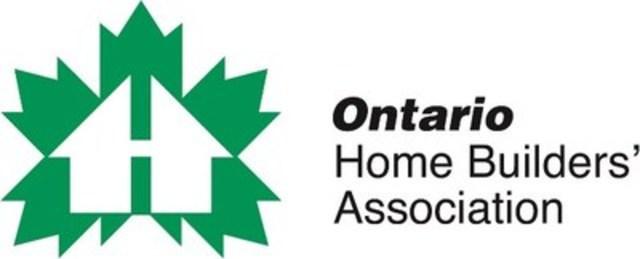 Ontario Home Builders' Association (CNW Group/Ontario Home Builders' Association)