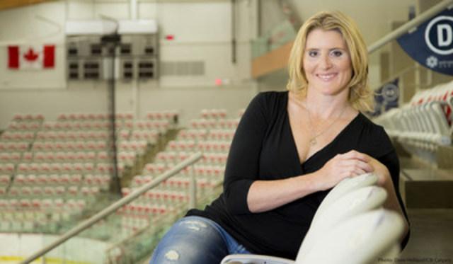 Hayley Wickenheiser - 4-Time Gold Medalist. (CNW Group/HighMark Health)