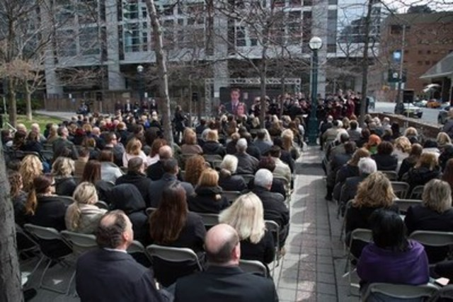 WSIB Day of Mourning Ceremony (CNW Group/Workplace Safety & Insurance Board)