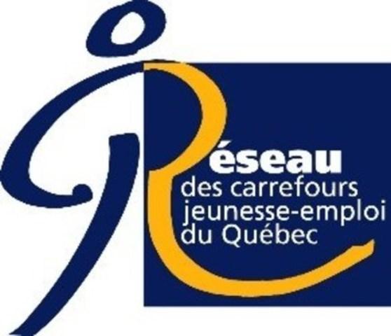 Logo : Réseau des Carrefours jeunesse-emploi du Québec (Groupe CNW/Réseau des Carrefours jeunesse-emploi du Québec)