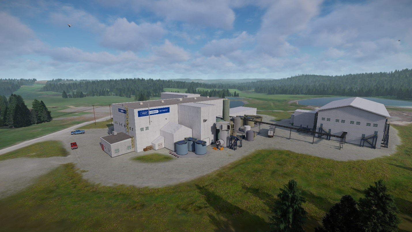 Appendix 2 Site Rendering – Expanded Refinery (CNW Group/First Cobalt Corp.)