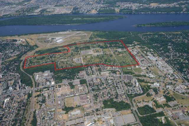 CLC's Rockcliffe property in Ottawa, Ontario (CNW Group/Canada Lands Company)