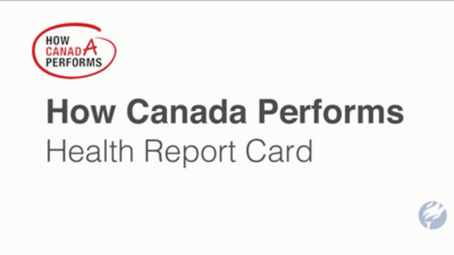 Video: How Canada Performs 2015 Health Rankings