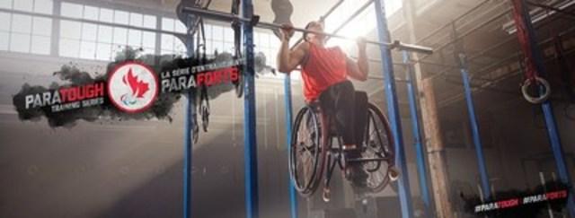 La joueuse de basketball en fauteuil roulant Cindy Ouellet fait parti de la Série d'entraînements ParaForts, la toute première série d'entraînements présentée entièrement par des paralympiens. Crédit : CPC/Tyler Gray/John Stevancec/Westside Studio (Groupe CNW/Comité paralympique canadien (CPC))