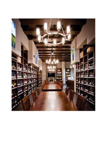 Legacy Wine Shop in Vancouver, British Columbia - Imagine a wine shop like this in Ontario. (CNW Group/Wine Council of Ontario)
