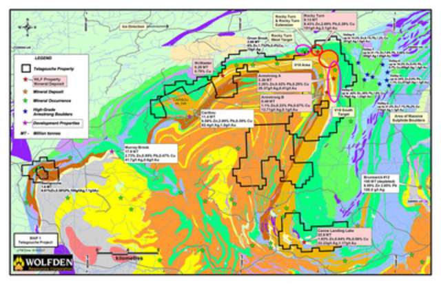 Location Map (CNW Group/Wolfden Resources Corporation)