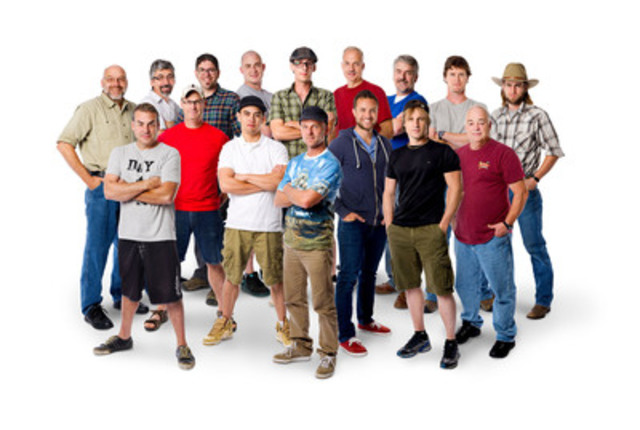 The Top 16 competitors chosen from Calgary, Winnipeg, Toronto and Halifax move on to the finals in Canada's Handyman Challenge Tuesdays at 10pm ET/PT on HGTV Canada (CNW Group/HGTV - Home & Garden Television)