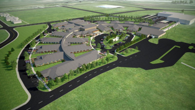 The Meadows, Swift Current Long-Term Care Centre demonstrates the benefits often attributed to the P3 model – cost-savings; on-time, on-budget delivery; and design innovations. (CNW Group/Canadian Council for Public-Private Partnerships)