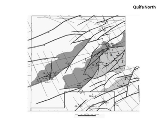Quifa Norte Block Exploration Map (CNW Group/Pacific Rubiales Energy Corp.)