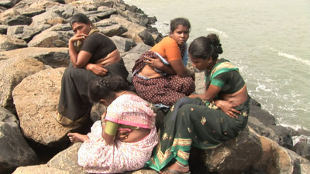 Kidney donors/sellers from Chennai, India in director Rama Rau's documentary The Market. (CNW Group/TVO)