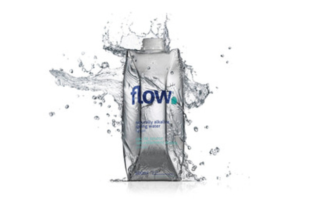Flow water is nurtured for thousands of years in a deep, artesian aquifer in Southwestern Ontario where it naturally collects essential minerals, electrolytes and an alkaline pH. (CNW Group/Flow)