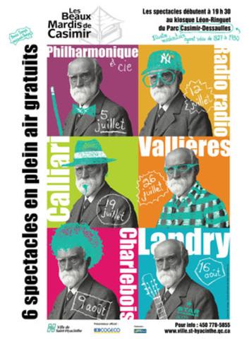 Georges-Casimir Dessaulles (Groupe CNW/VILLE DE SAINT-HYACINTHE)