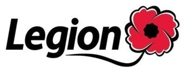 Logo: Royal Canadian Legion (CNW Group/The Royal Canadian Legion Dominion Command)