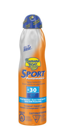 Banana Boat Sport Performance SPF 30 Spray Sunscreen, 180ml (79656 00878 4) (CNW Group/Energizer Canada)