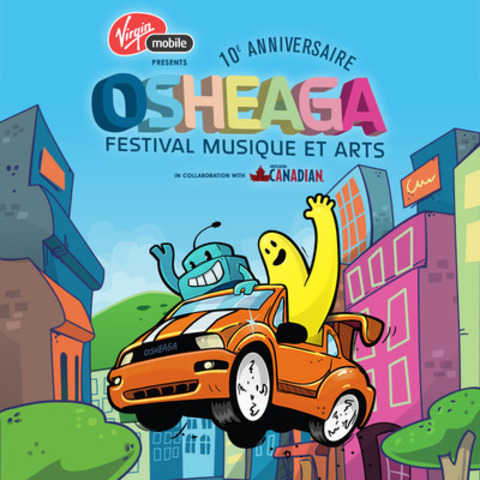 """The Osheaga Music and Arts Festival launches a mobile app game """"The Road to Osheaga"""" to share their 2015 lineup.  Info at Osheaga.com  (CNW Group/evenko)"""