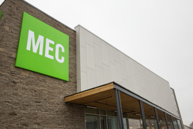 The new MEC North York store at 784 Sheppard Avenue East. The long-awaited 34,000-sq.-ft. Sheppard Ave East location will fast become a community hub to better serve a growing co-op membership of outdoor enthusiasts across the region. (CNW Group/MEC)