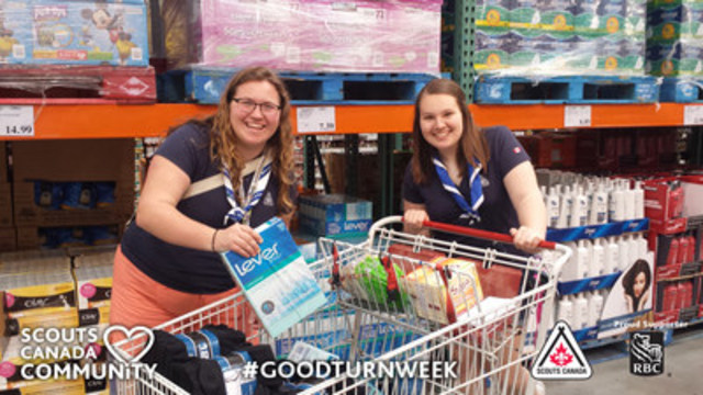 One Good Turn is all it takes to make a difference during Good Turn Week, April 22 – May 1. (CNW Group/Scouts Canada)