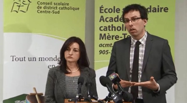 Video: First-ever lawsuit filed by a French-language school board against the government of Ontario for new school facilities