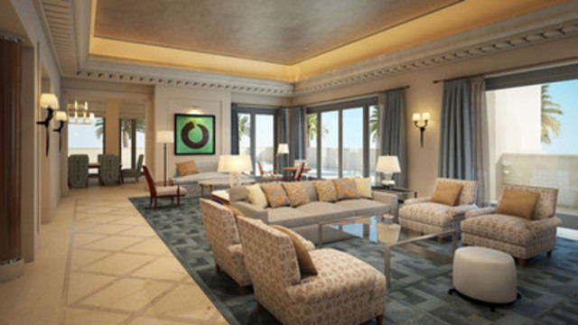 The New Four Seasons Resort Dubai At Jumeirah Beach Is Now Accepting Reservations For December 1, 2014 (CNW Group/Four Seasons Hotels and Resorts)