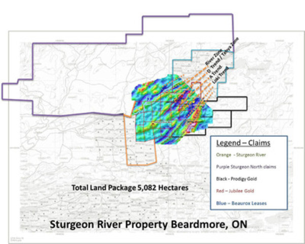 Laurion Confirms Presence of Mineralized Trend Adjacent to Potential Target Deposit (CNW Group/Laurion Mineral Exploration Inc.)