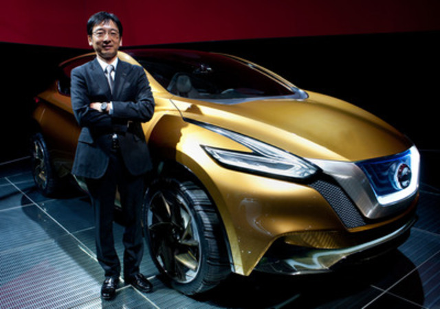 Taro Ueda, Vice President of Nissan Design America, at the Canadian debut of the Nissan Resonance Concept. (CNW  ...