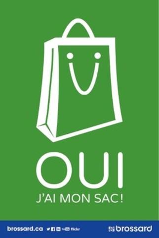 Visuel de la campagne de sensibilisation qui accompagnera la période de transition sur le territoire de la Ville de Brossard (Groupe CNW/Ville de Brossard)
