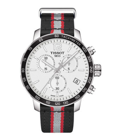 Tissot Quickster NBA Toronto Raptors Watch, front (CNW Group/Tissot)