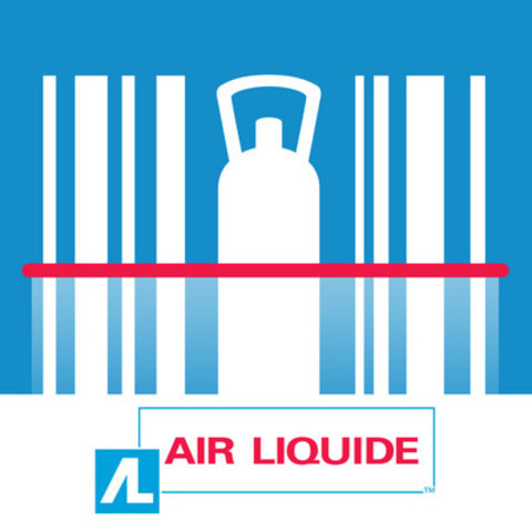 A brand new app from Air Liquide Canada to easily order cylinder gases and welding products from a smartphone (CNW Group/Air Liquide Canada)